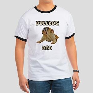 Bulldog Dad Ringer T
