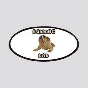 Bulldog Dad Patches