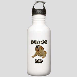 Bulldog Dad Stainless Water Bottle 1.0L