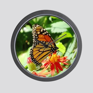BUTTERFLY LOVER Wall Clock