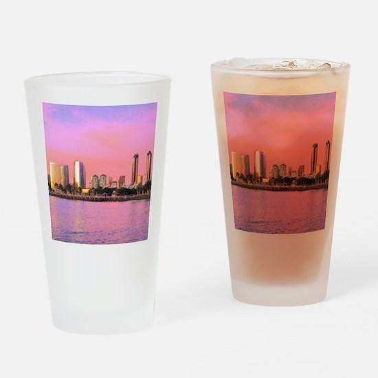 SAN DIEGO SKYLINE Drinking Glass