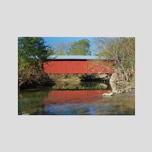 Patterson Covered Bridge Rectangle Magnet