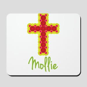 Mollie Bubble Cross Mousepad