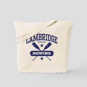 Cambridge England Rowing Tote Bag
