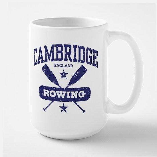 Cambridge England Rowing Large Mug