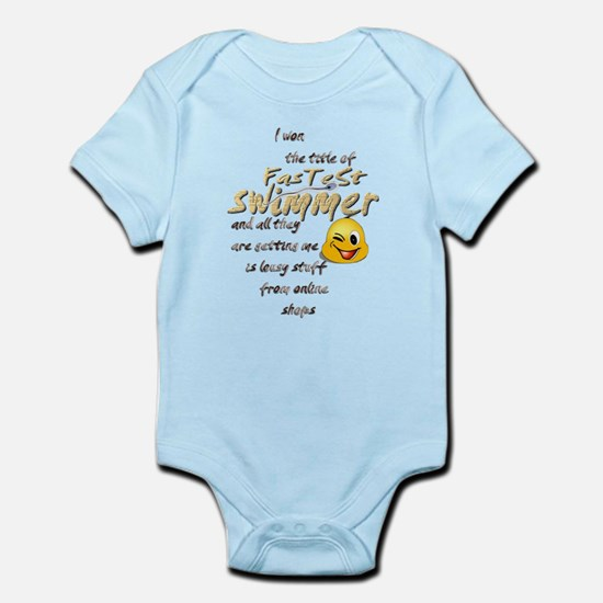 Fastest Swimmer Infant Bodysuit
