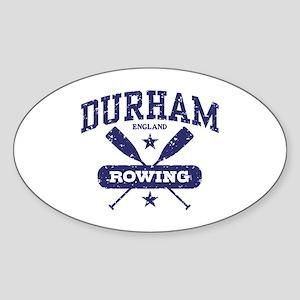 Durham England Rowing Sticker (Oval)
