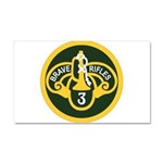 3rd Armored Cavalry Car Magnet 20 x 12