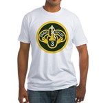 3rd Armored Cavalry Fitted T-Shirt