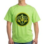 3rd Armored Cavalry Green T-Shirt