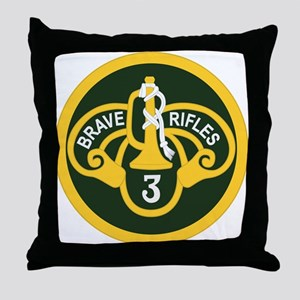 3rd Armored Cavalry Throw Pillow