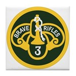 3rd Armored Cavalry Tile Coaster