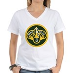 3rd Armored Cavalry Women's V-Neck T-Shirt