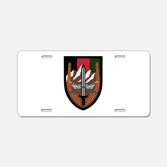 US Forces Afghanistan Aluminum License Plate