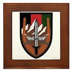 US Forces Afghanistan Framed Tile
