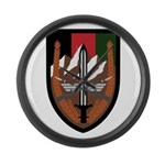 US Forces Afghanistan Large Wall Clock