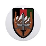 US Forces Afghanistan Ornament (Round)