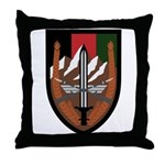 US Forces Afghanistan Throw Pillow