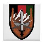 US Forces Afghanistan Tile Coaster