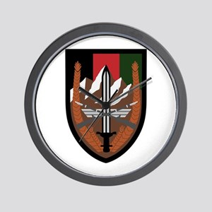 US Forces Afghanistan Wall Clock