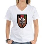 US Forces Afghanistan Women's V-Neck T-Shirt