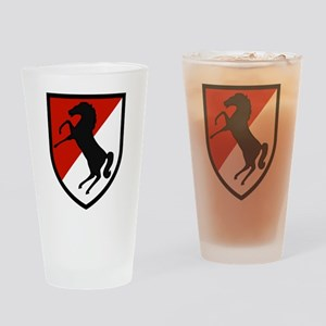 11th Armored Cavalry Drinking Glass
