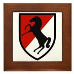 11th Armored Cavalry Framed Tile