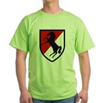 11th Armored Cavalry Green T-Shirt