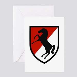 11th Armored Cavalry Greeting Card