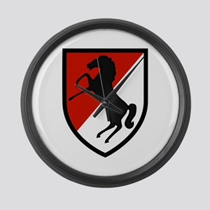 11th Armored Cavalry Large Wall Clock