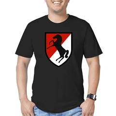 11th Armored Cavalry Men's Fitted T-Shirt (dark)