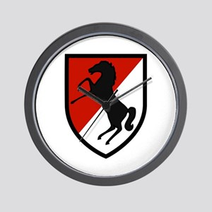 11th Armored Cavalry Wall Clock