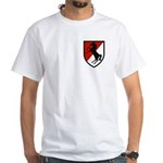 11th Armored Cavalry White T-Shirt