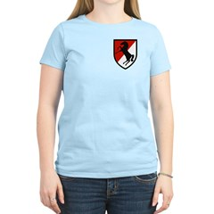 11th Armored Cavalry Women's Light T-Shirt