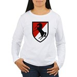 11th Armored Cavalry Women's Long Sleeve T-Shirt