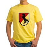 11th Armored Cavalry Yellow T-Shirt