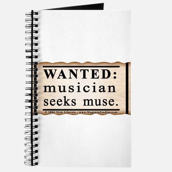 Musician Seeks Muse Journal