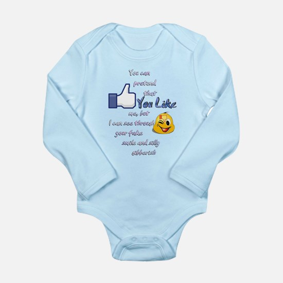 You Like... Long Sleeve Infant Bodysuit