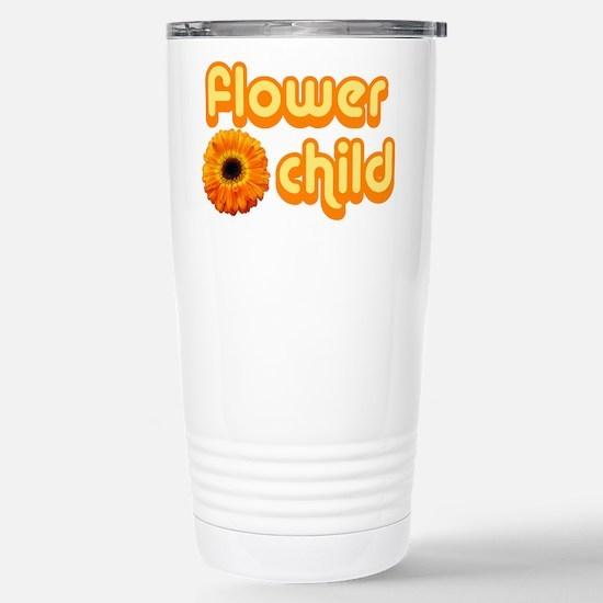 Flower Child Stainless Steel Travel Mug