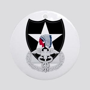 2nd Infantry CFMB Ornament (Round)