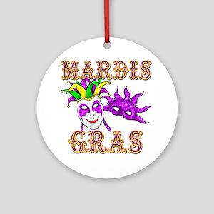 Mardis Gras Ornament (Round)