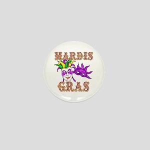 Mardis Gras Mini Button