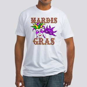 Mardis Gras Fitted T-Shirt
