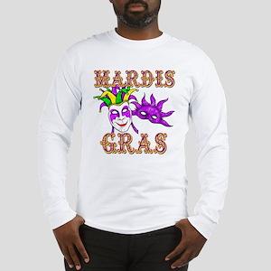 Mardis Gras Long Sleeve T-Shirt