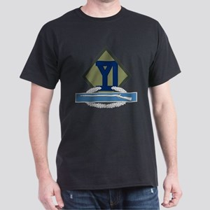 26th Infantry CIB Dark T-Shirt