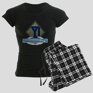 26th Infantry CIB Women's Dark Pajamas
