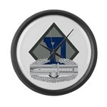 26th Infantry CAB Large Wall Clock