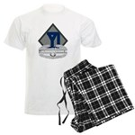 26th Infantry CAB Men's Light Pajamas
