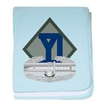 26th Infantry CAB baby blanket