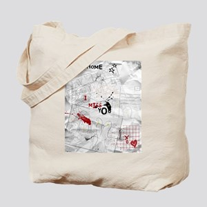 miss you2 Tote Bag